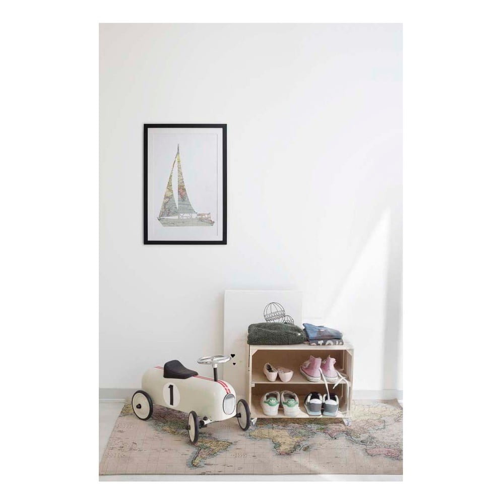 obraz little nice things sail 40 x 60 cm bonami. Black Bedroom Furniture Sets. Home Design Ideas