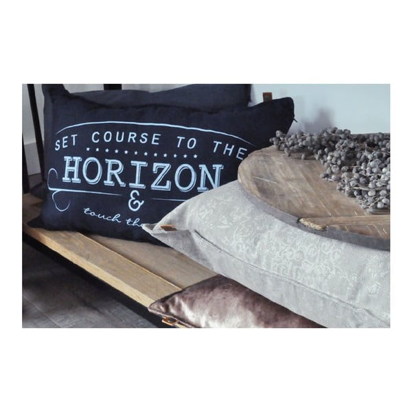 Krémový polštář OVERSEAS Horizon,40x60cm