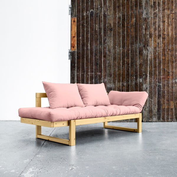 Variabilní pohovka Karup Edge Honey/Pink Peonie