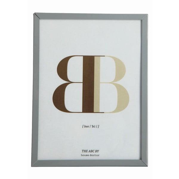 Rámeček s obrázkem Letra B, 16x12