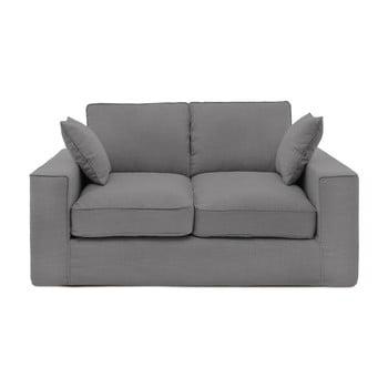 Canapea cu 2 locuri Vivonia Jane, gri de la Vivonita