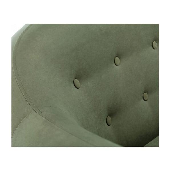 Colțar cu șezlong pe partea stângă Scandi by Stella Cadente Maison Constellation, verde