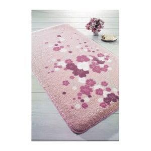 Covoraș de baie Confetti Bathmats Spray, 100 x 160 cm, roz