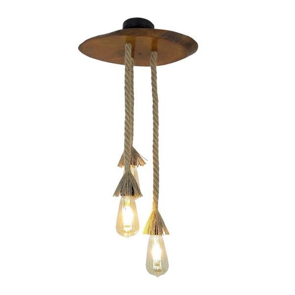 Závěsné svítidlo z ořechového dřeva Triti