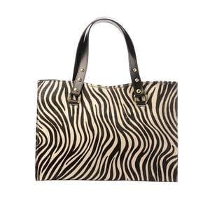 Kožená kabelka Tina Panicucci Spotted Zebra