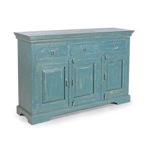 Comodă Bizzotto Ania Blue, lățime 137 cm