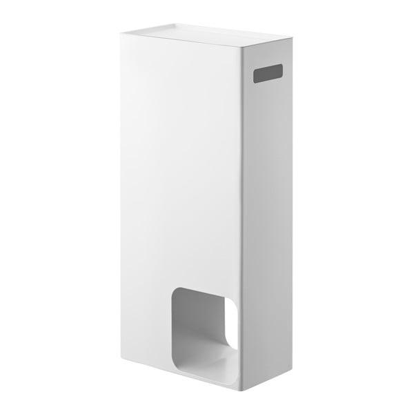 Rin Stocker fehér tárolóasztal és WC-papír tartó - YAMAZAKI