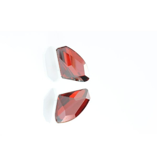 Náušnice Yasmine Crystals Red