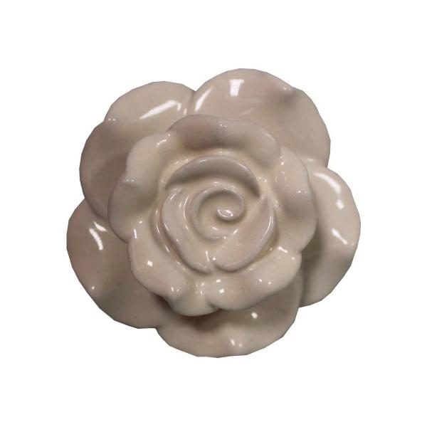 Beżowa ceramiczna gałka Antic Line Belarosa
