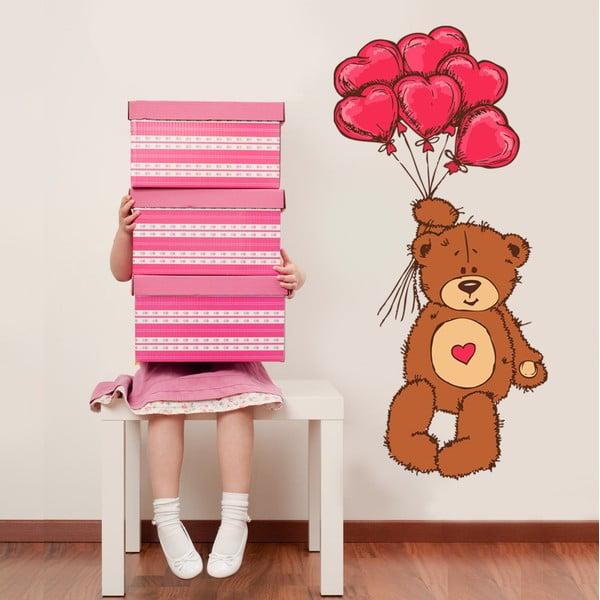 Samolepka na stěnu Teddy
