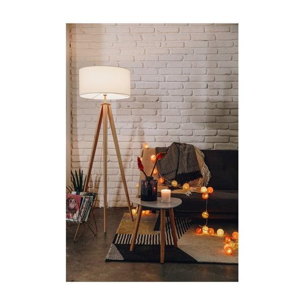 Ghirlandă luminoasă cu becuri LED Luuka, 30 lumini, portocaliu