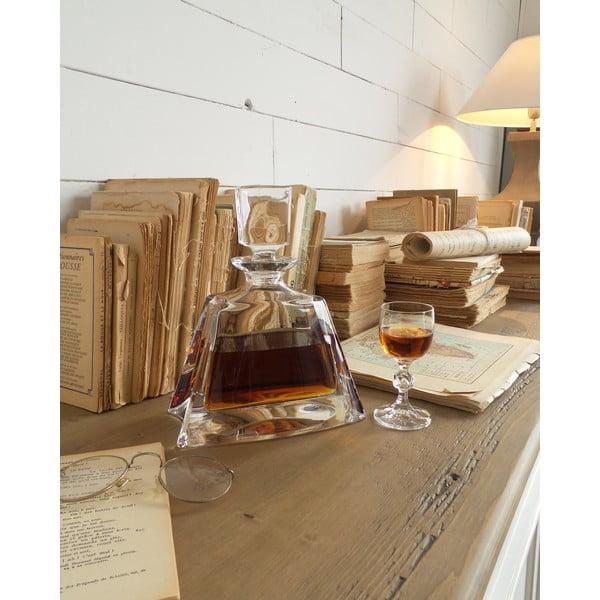 Broušená lahev na whisky Fine, 22 cm