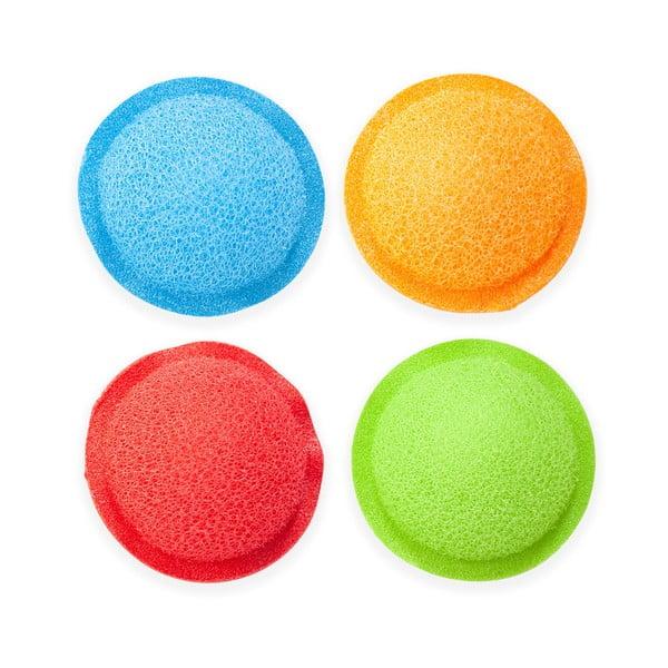 Colors 4 db üvegtisztító szivacs - Kikkerland