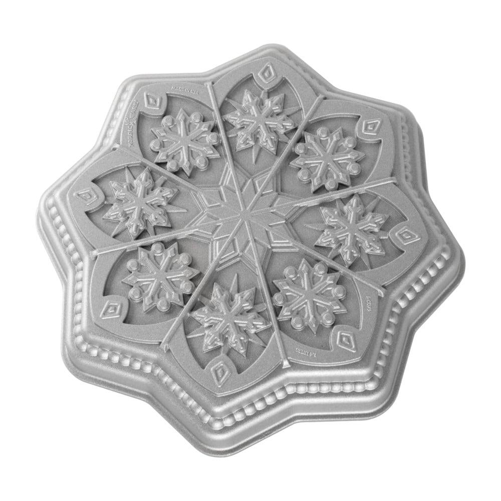 Forma na bábovku Nordic Ware Shortbread Snowflake, 1,4l