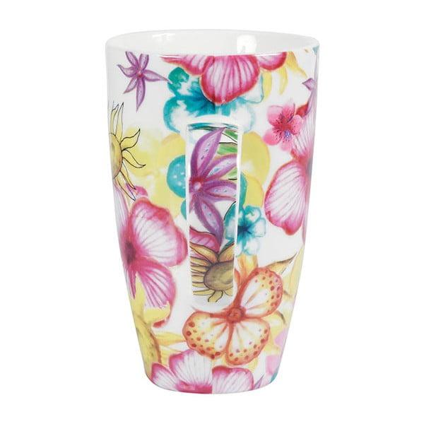 Sada 2 porcelánových hrnků Blooming, 600 ml