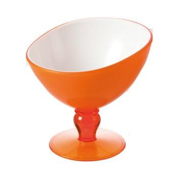 Cupă pentru desert Vialli Design Livio, 180 ml, portocaliu