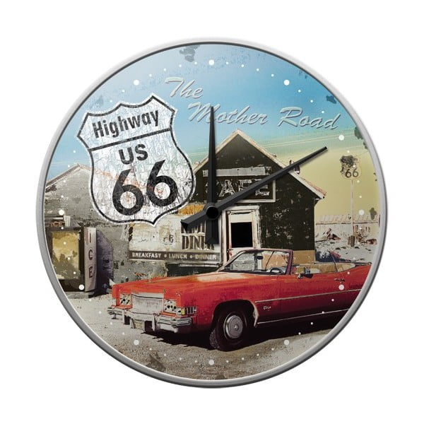 Hodiny Highway 66, 31 cm
