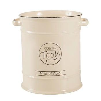 Recipient ceramic pentru ustensile de bucătărie T&G Woodware Pride of Place, crem de la T&G Woodware
