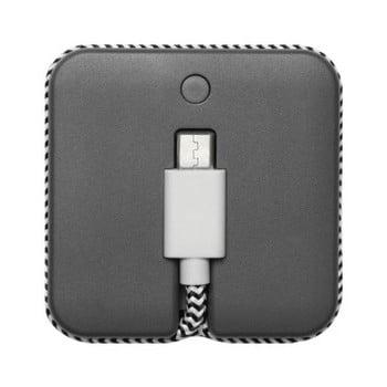 Baterie externă cu cablu Micro USB Native Union Jump Cable, lungime 45 cm, gri de la Native Union