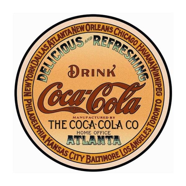 Plechová cedule Drink Coca Cola, 30x40 cm