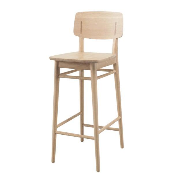 Barová židle z dubového dřeva Wewood - Portuguese Joinery Country