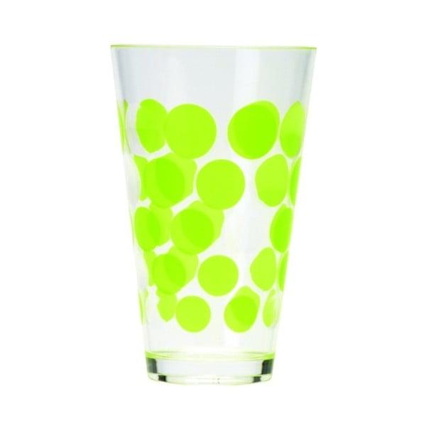 Sklenice Dot Dot 300 ml, zelená