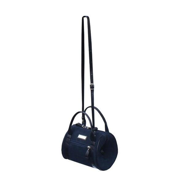 Kožená kabelka Boscollo Navy 2158