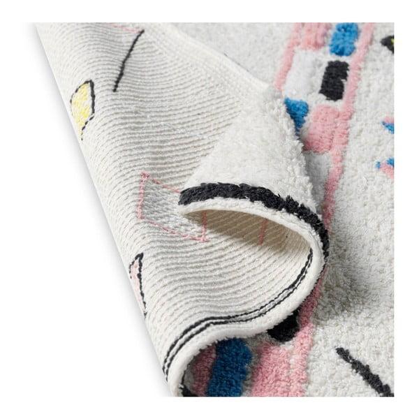 Barevný ručně tkaný koberec z bavlny HF Living Morocco, 120 x 170 cm