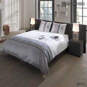 Lenjerie de pat din bumbac Descanso Messika Duro, 200 x 200 cm