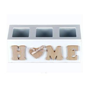 Dřevěné přihrádky Home