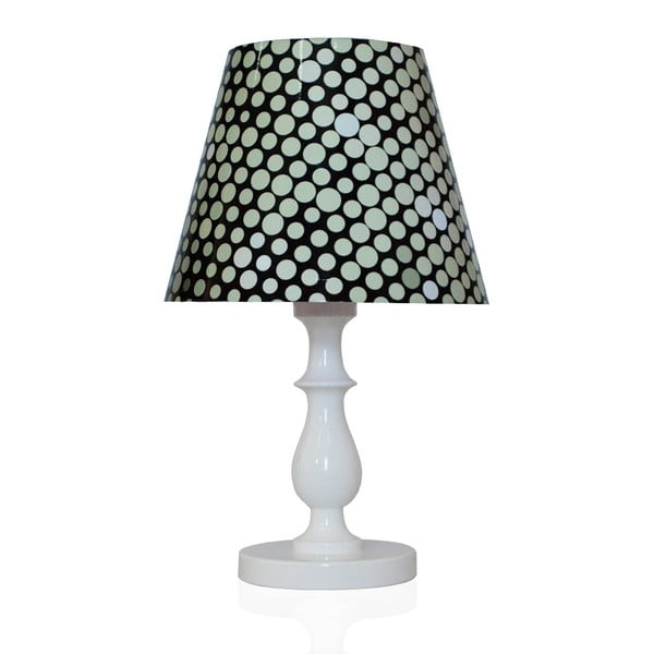 Stolní lampa Puntíky