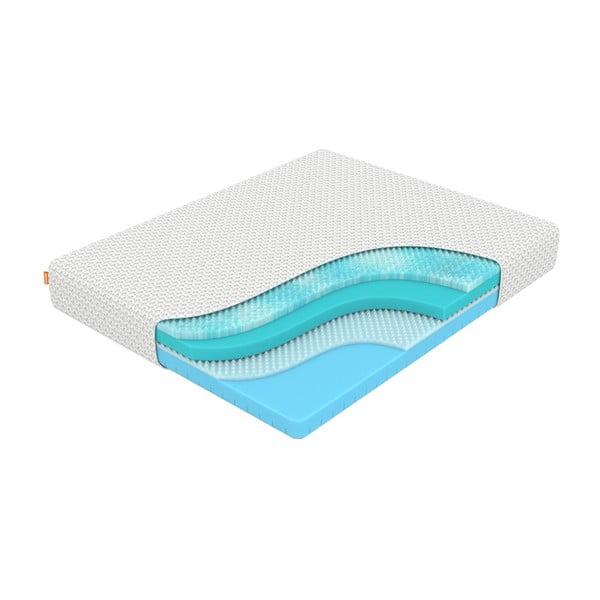 Mäkký matrac z pamäťovej peny Enzio Ocean Soft Transform, 120 x 200 cm, výška 23 cm