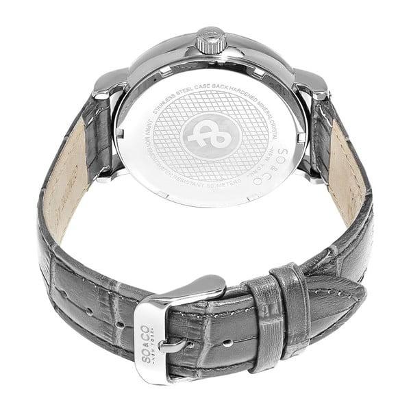 Pánské hodinky Madison Leather Black
