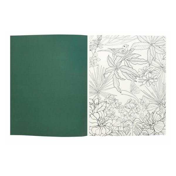Carte de colorat Portico Designs World