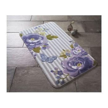 Covoraş de baie Confetti Bathmats Roses, 80 x 140 cm, violet de la Confetti