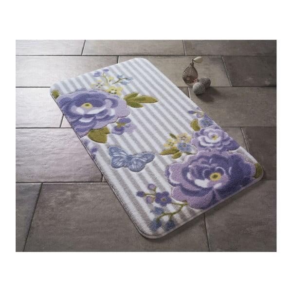 Covoraş de baie Confetti Bathmats Roses, 80 x 140 cm, violet