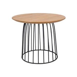Odkládací stolek s ocelovou konstrukcí Signal Dafne, ⌀50cm