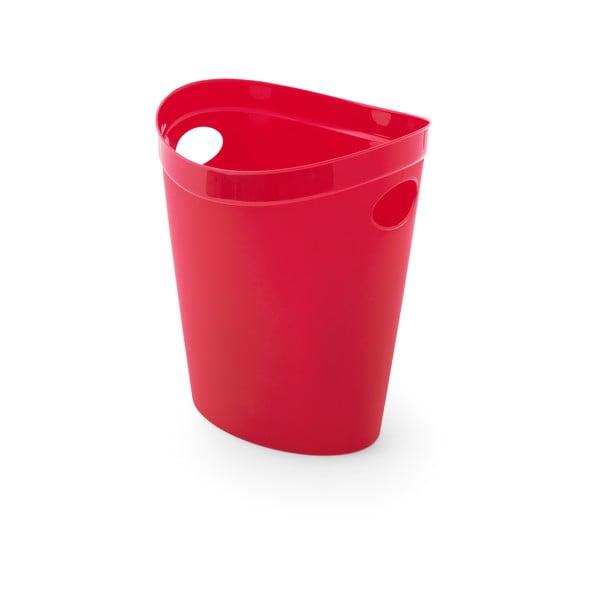 Coș de gunoi pentru hârtie Addis Flexi, 27 x 26 x 34 cm, roșu