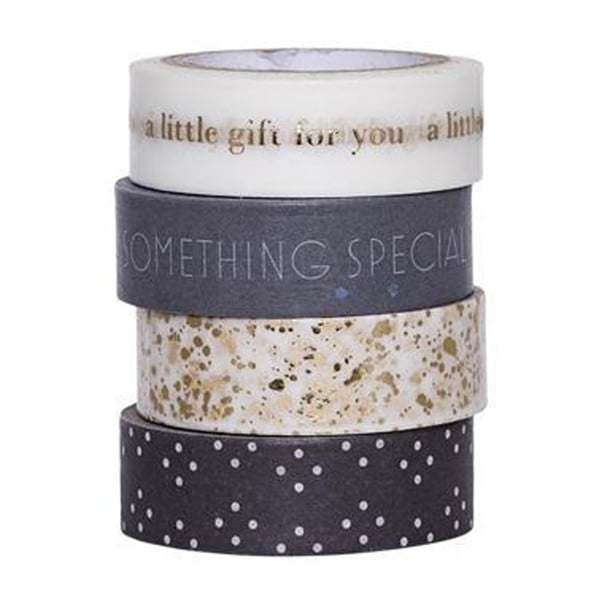 Sada 4 washi pásek Bloomingville Little Gift