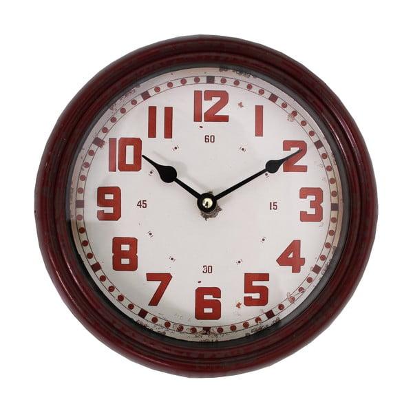 Nástěnné hodiny Pendule, červené