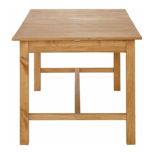 Přírodní rozkládací jídelní stůl z borovicového dřeva Støraa Randy, 90x140cm