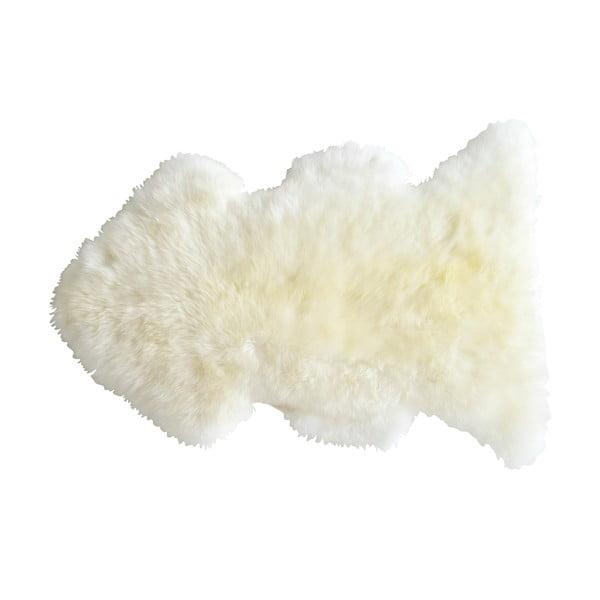 Bílá ovčí kožešina Nattiot Douchka