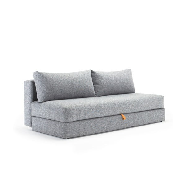 Szara sofa rozkładana Innovation Osvald