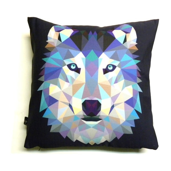 Polštář Vlk, 40x40 cm
