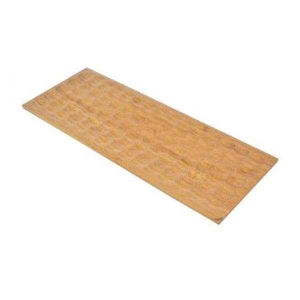 Bambum obdélníkový servírovací podnos Miel, 40x15 cm