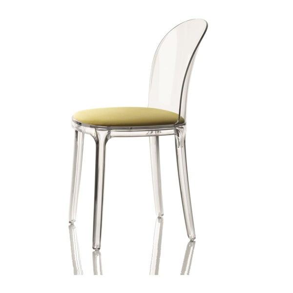 Židle se zeleným sedákem Magis Vanity