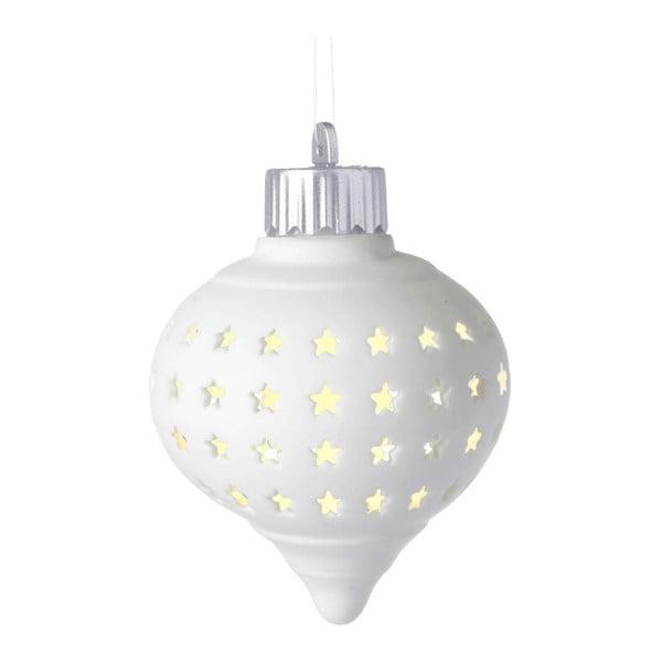 Světelná LED vánoční ozdoba Parlane Droplet Starry