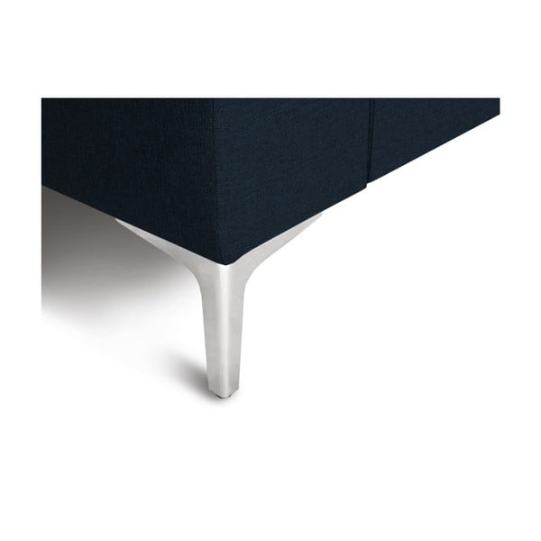 Canapea pe colț cu 4 locuri Cosmopolitan Design Cartegena, pe partea stângă, verde petrol