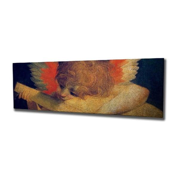 Angel vászon fali kép, 80 x 30 cm