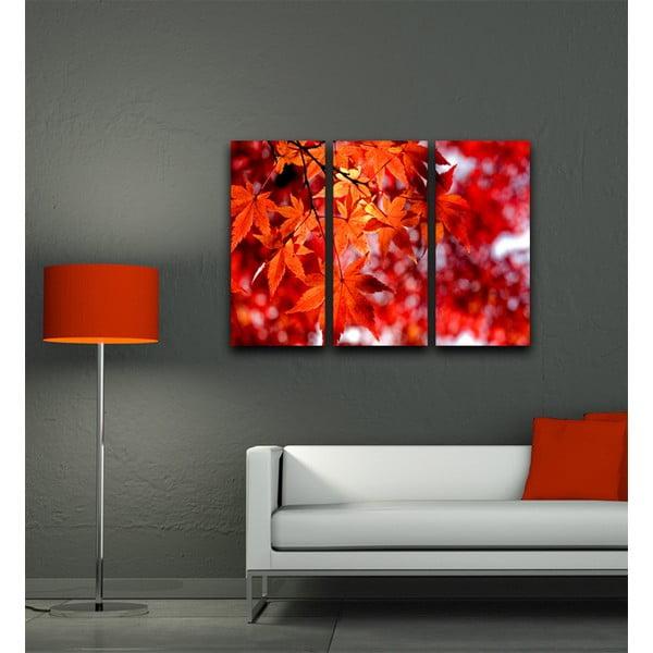 3dílný obraz Na podzim